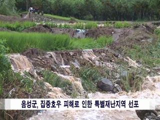 음성군정뉴스 2020년 8월 상반기 사진